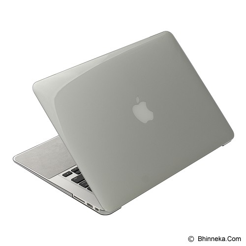 POWER SUPPORT Air Jacket for Macbook 13 inch [PMC-83] - Black Clear - Notebook Hard Shell Case